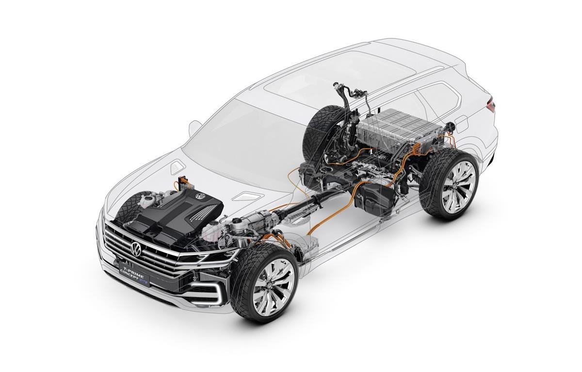 Volkswagen T-Prime Concept GTE — фотогалерея