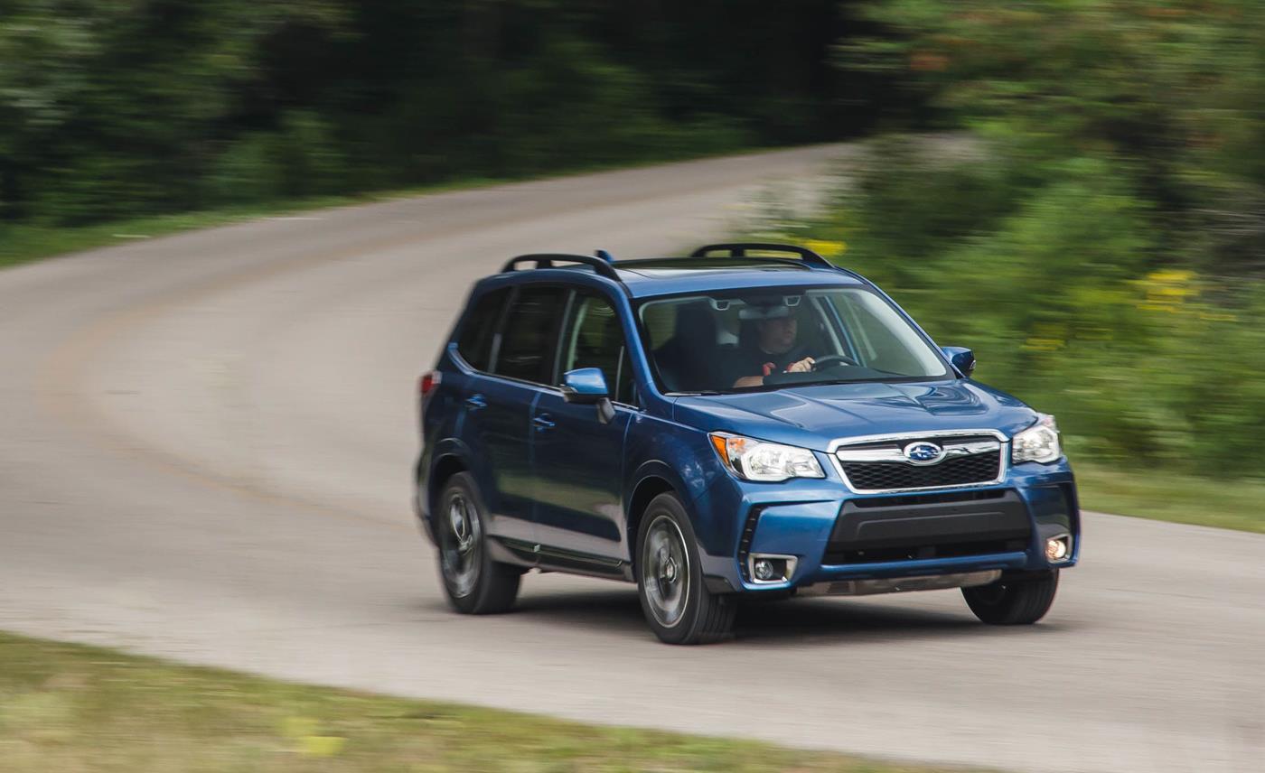 Subaru Forester 2016 — фотогалерея