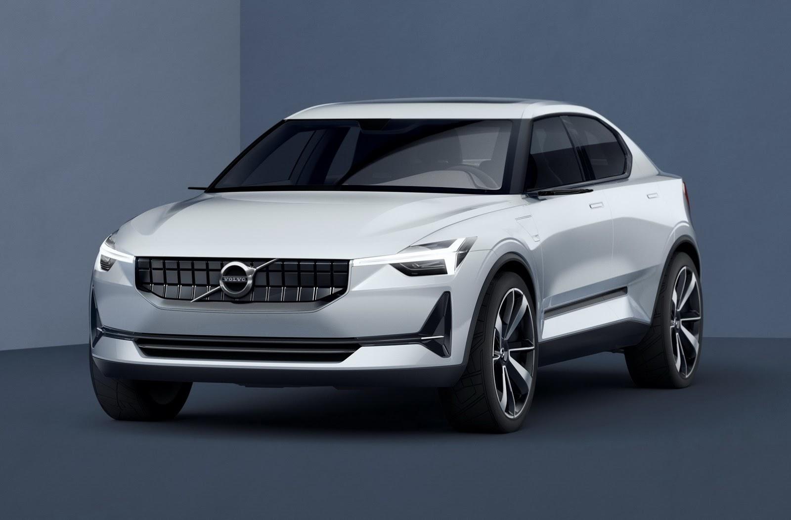 Смотреть Volvo показали кусочек нового концепта видео