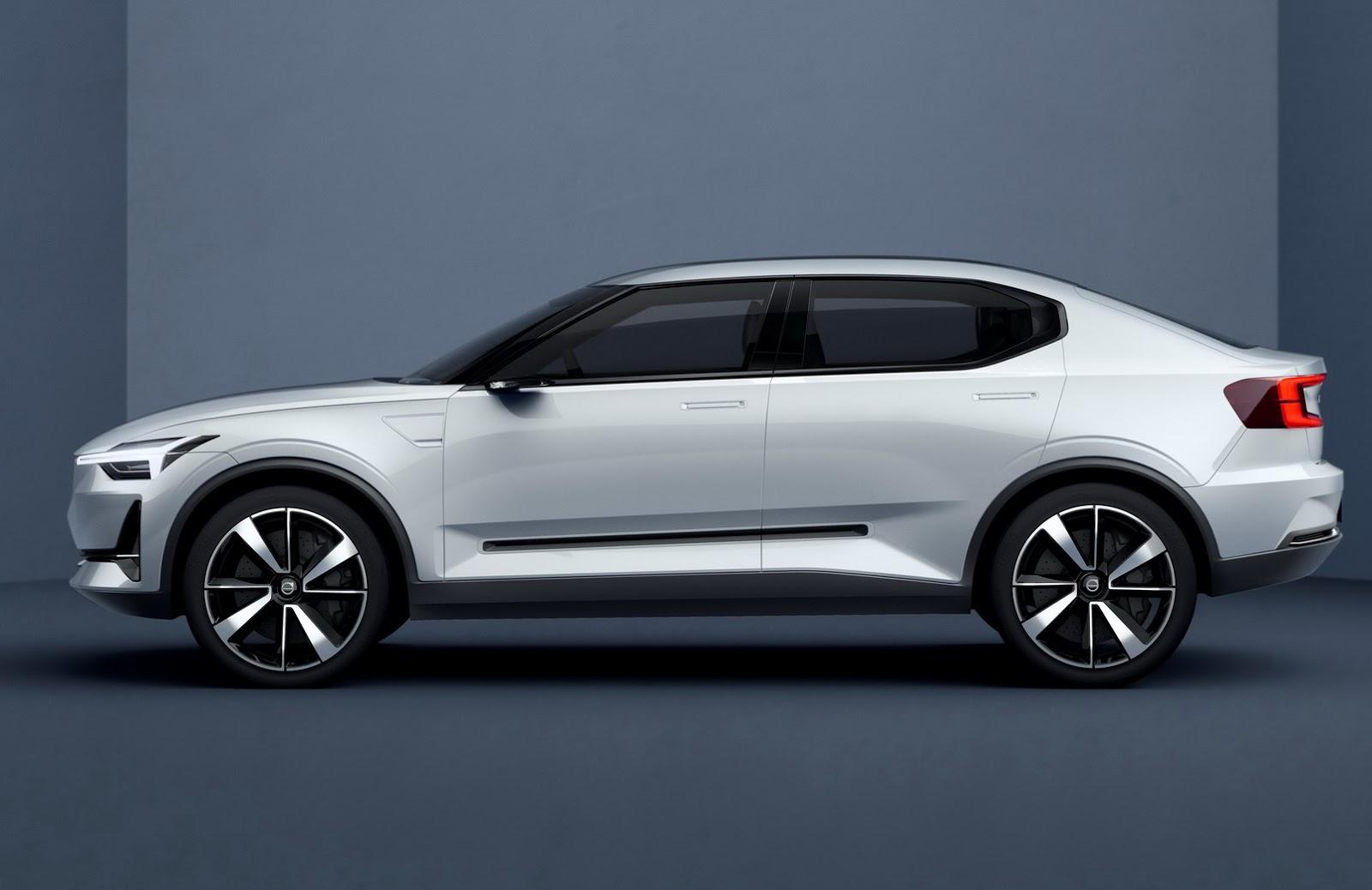 Volvo показали кусочек нового концепта