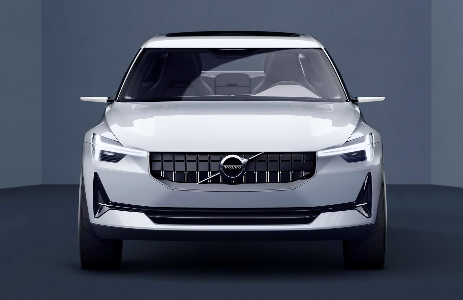 Volvo показали кусочек нового концепта картинки