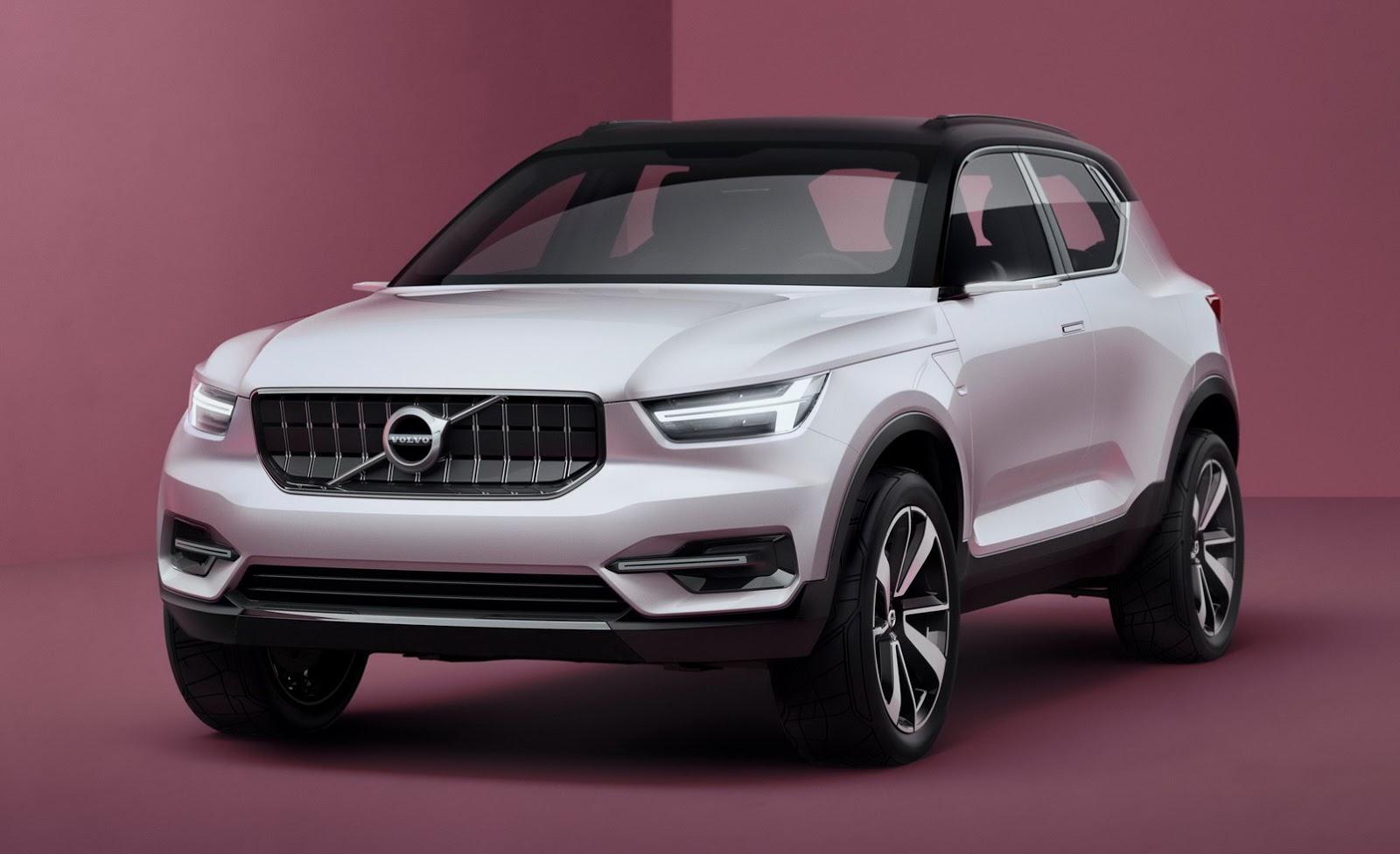 Volvo показали кусочек нового концепта изоражения