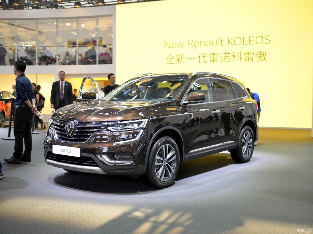 Renault Koleos 2016 — фотогалерея