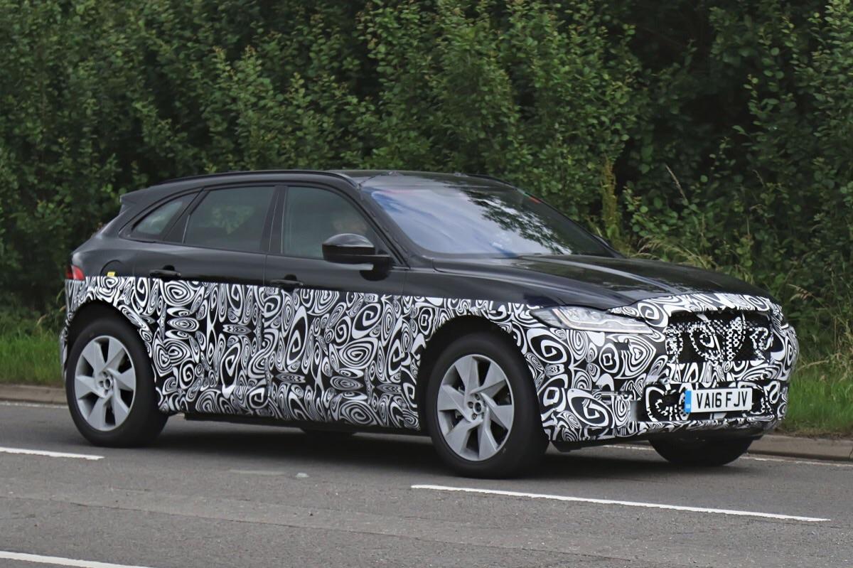 Jaguar тестирует дизельный спорткар