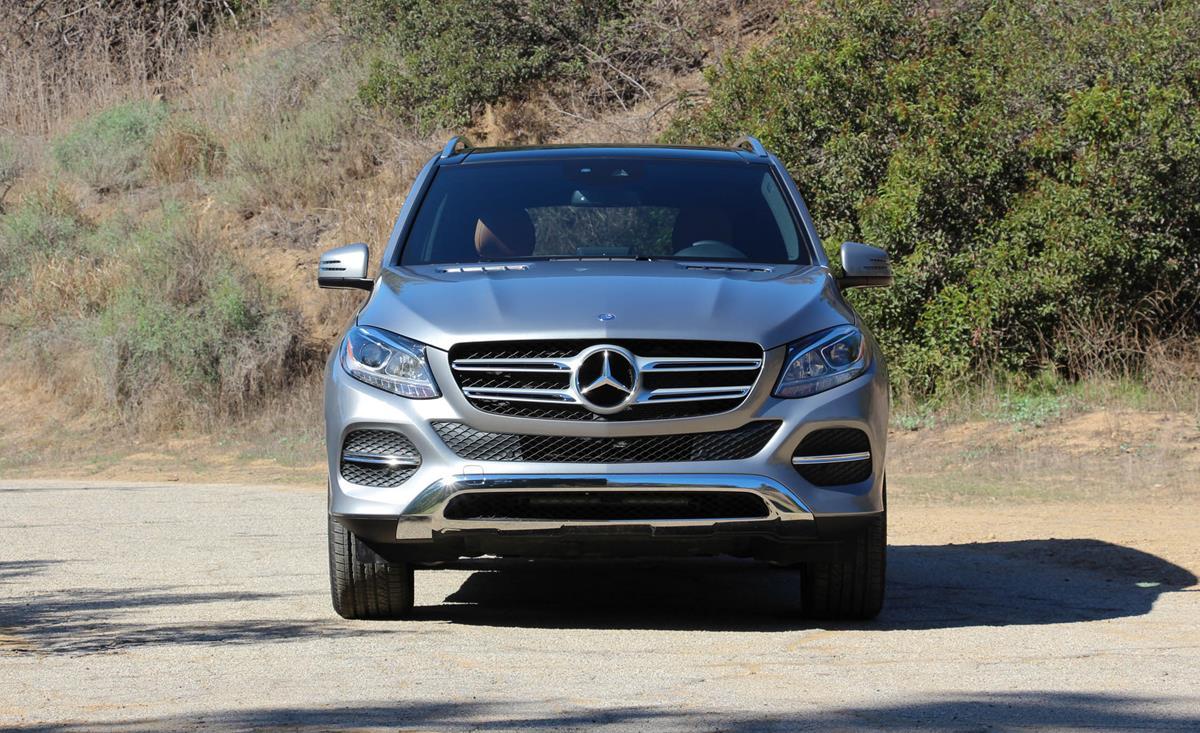 Mercedes-Benz GLE 2016 — фотогалерея