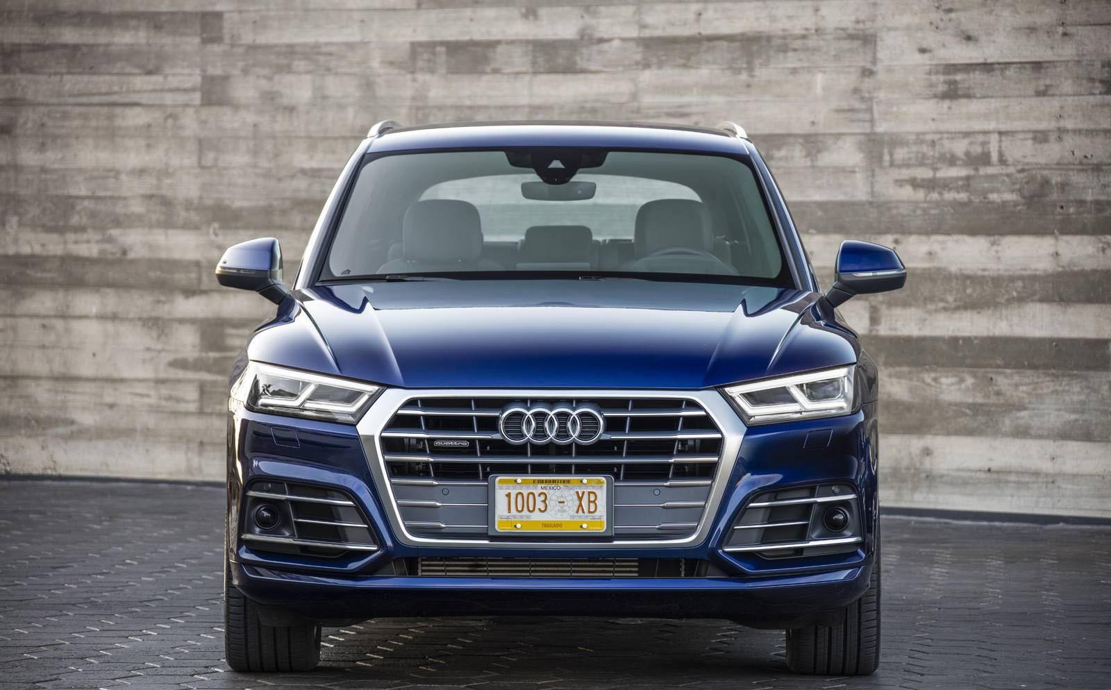 Новое поколение Audi Q5 2017 — фотогалерея