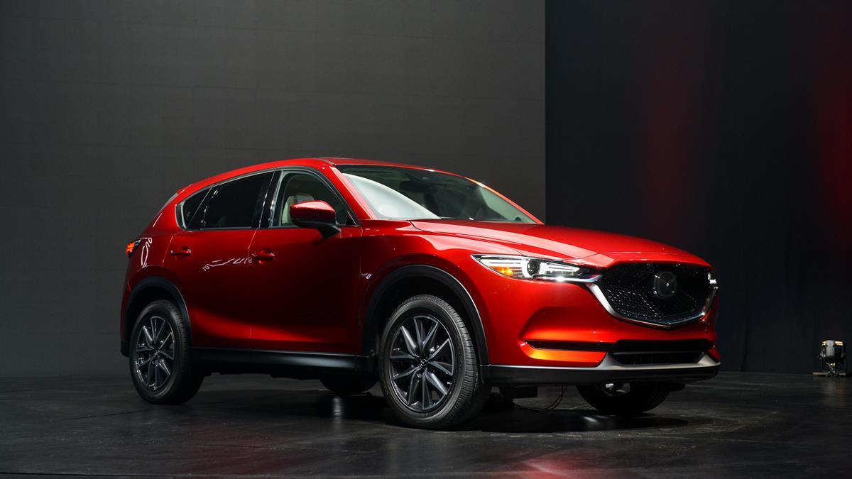 Mazda CX-5 2017 — фотогалерея