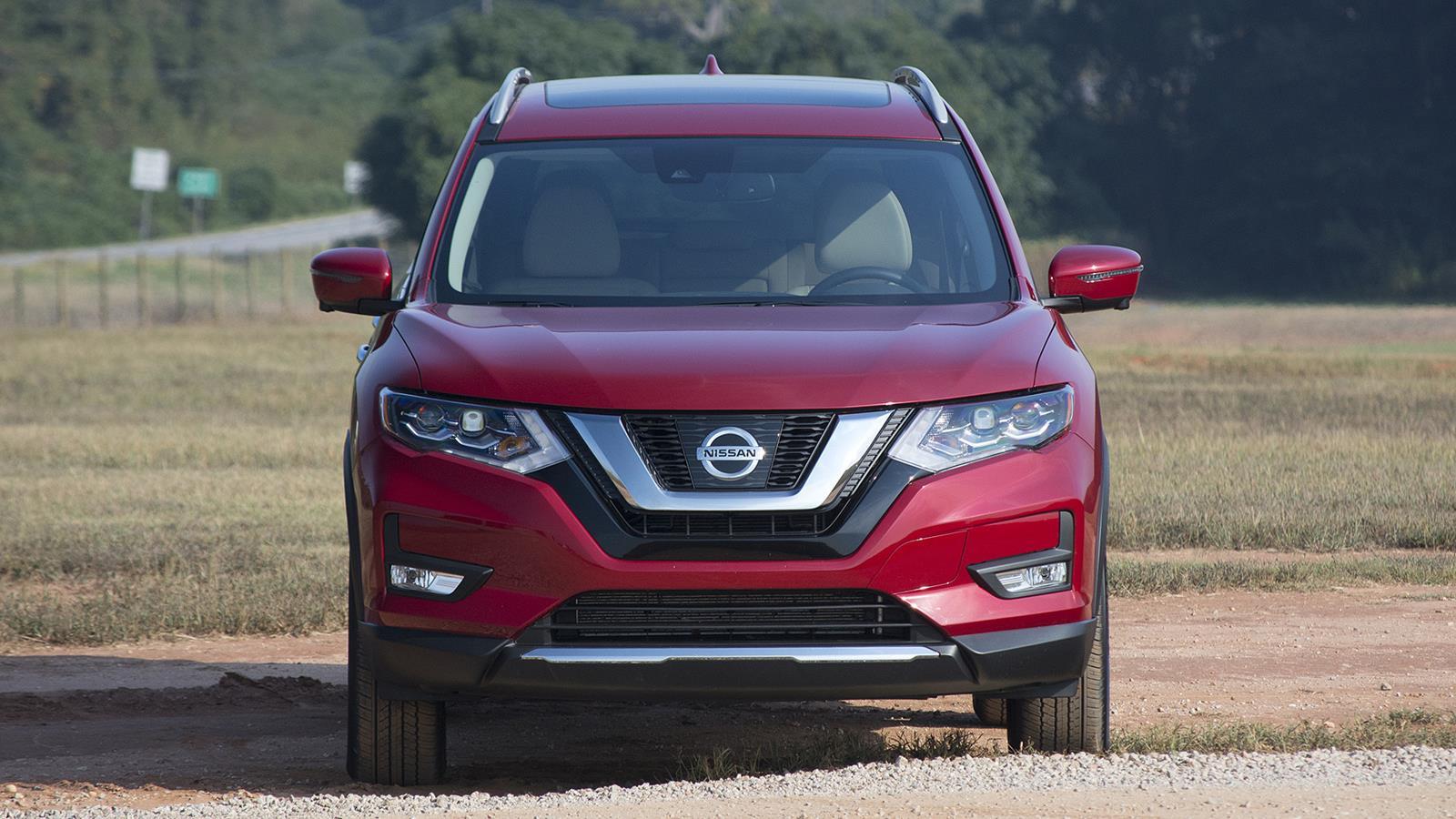 Nissan Rogue 2017 — фотогалерея