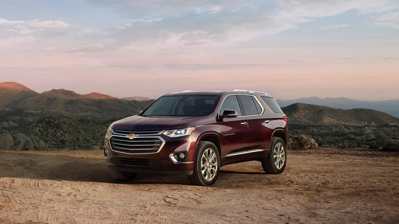 Chevrolet Traverse 2018 — фотогалерея