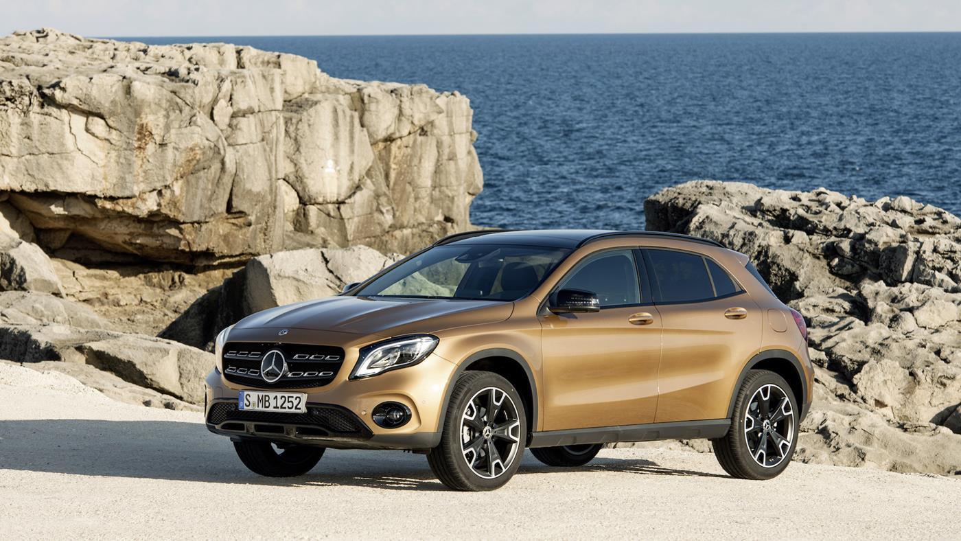 Mercedes-Benz GLA 2018 года — фотогалерея