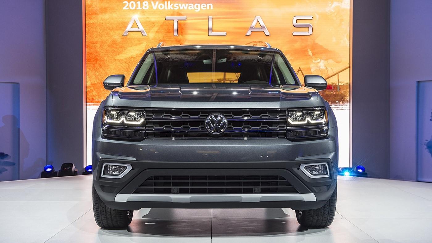 Volkswagen Atlas — фотогалерея нового внедорожника