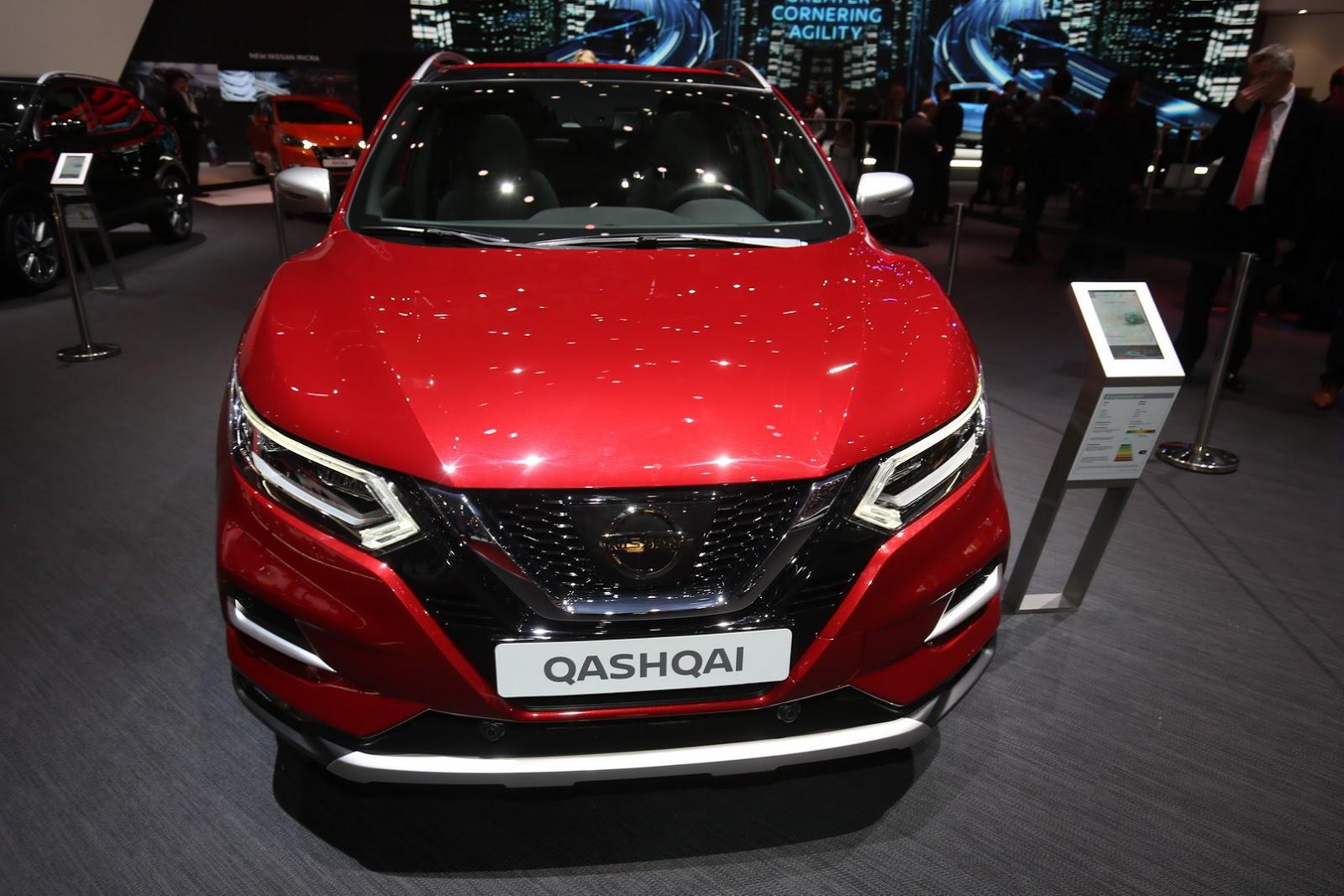 Nissan Qashqai рестайлинг — фотогалерея