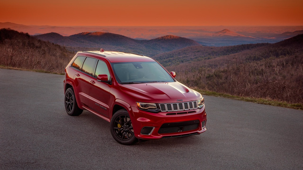 Jeep Grand Cherokee Trackhawk — фотогалерея