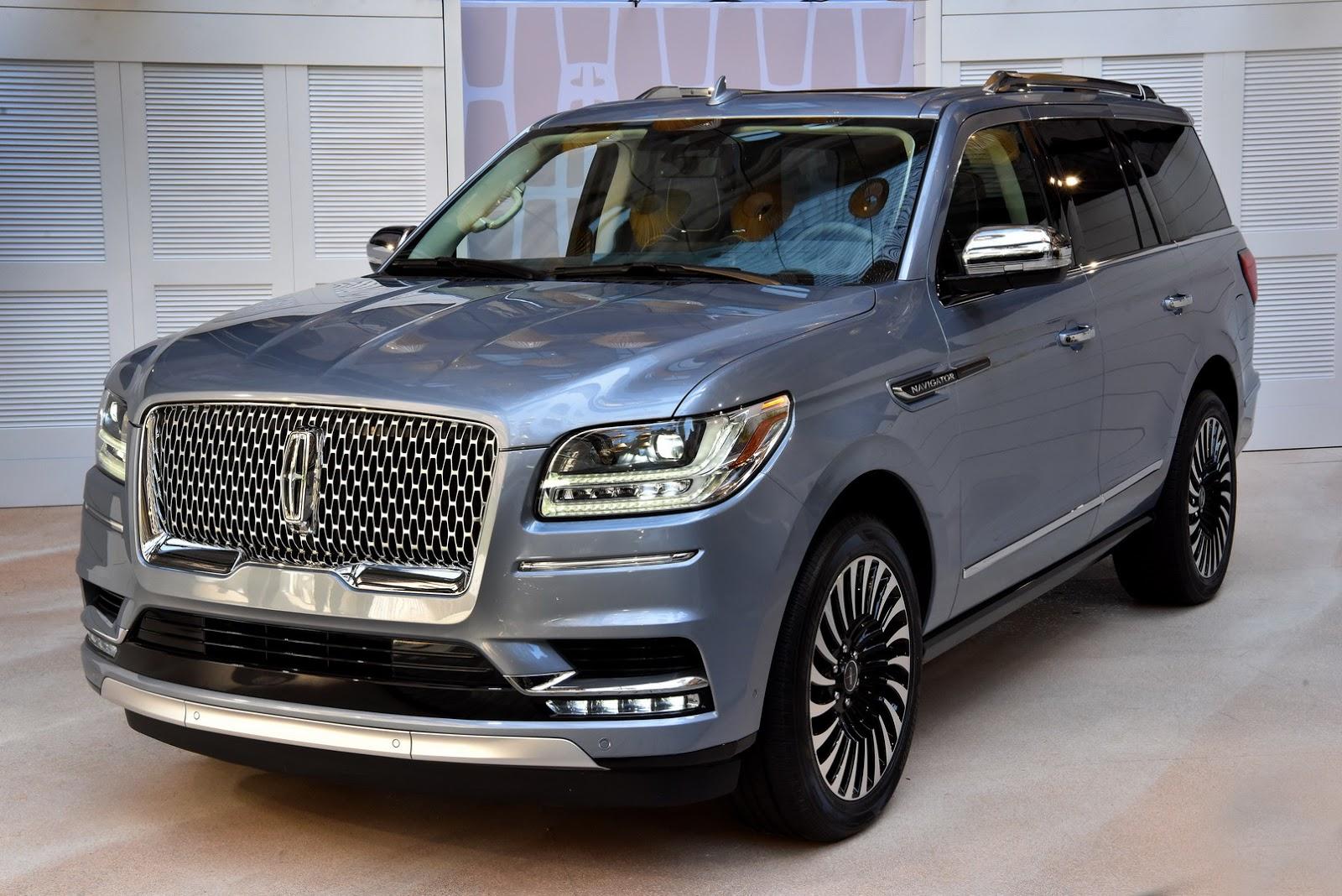 Lincoln Navigator 2018 — фотогалерея