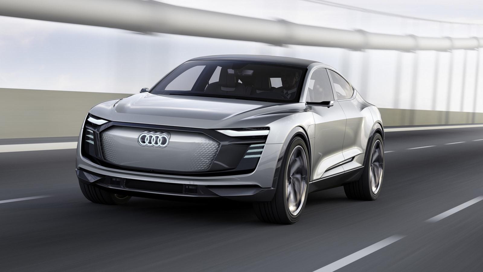 Audi E-Tron Sportback — фотогалерея