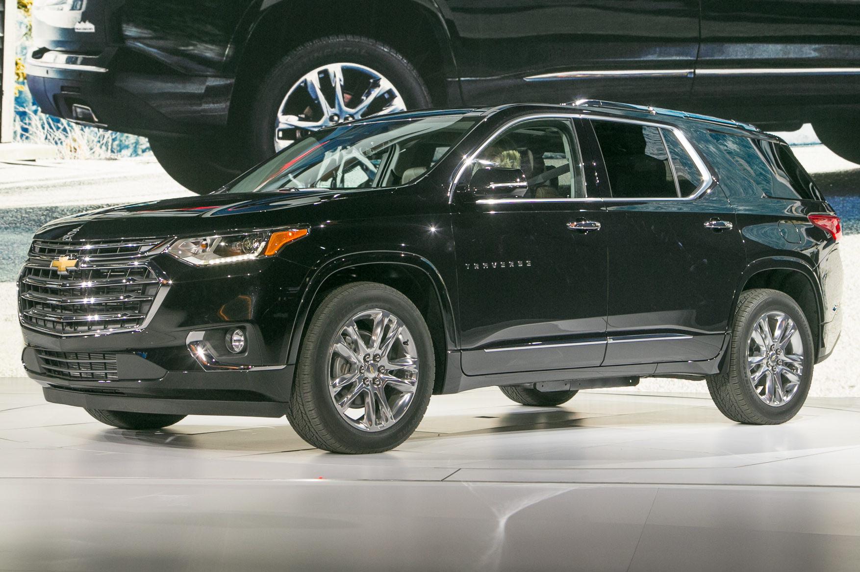Chevrolet Traverse 2018 - компания планирует вернуться на российский рынок с новым внедорожником