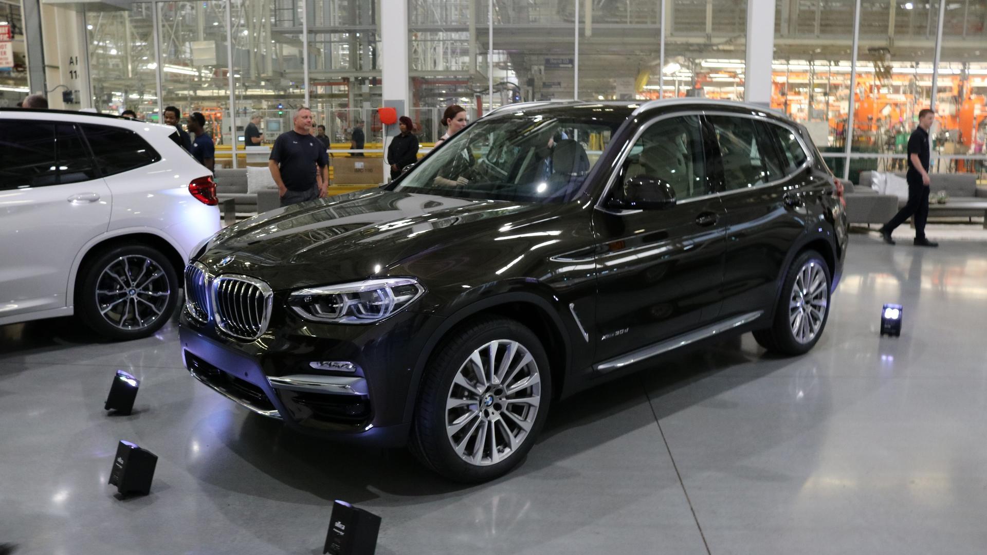 BMW X3 2018 — фотогалерея