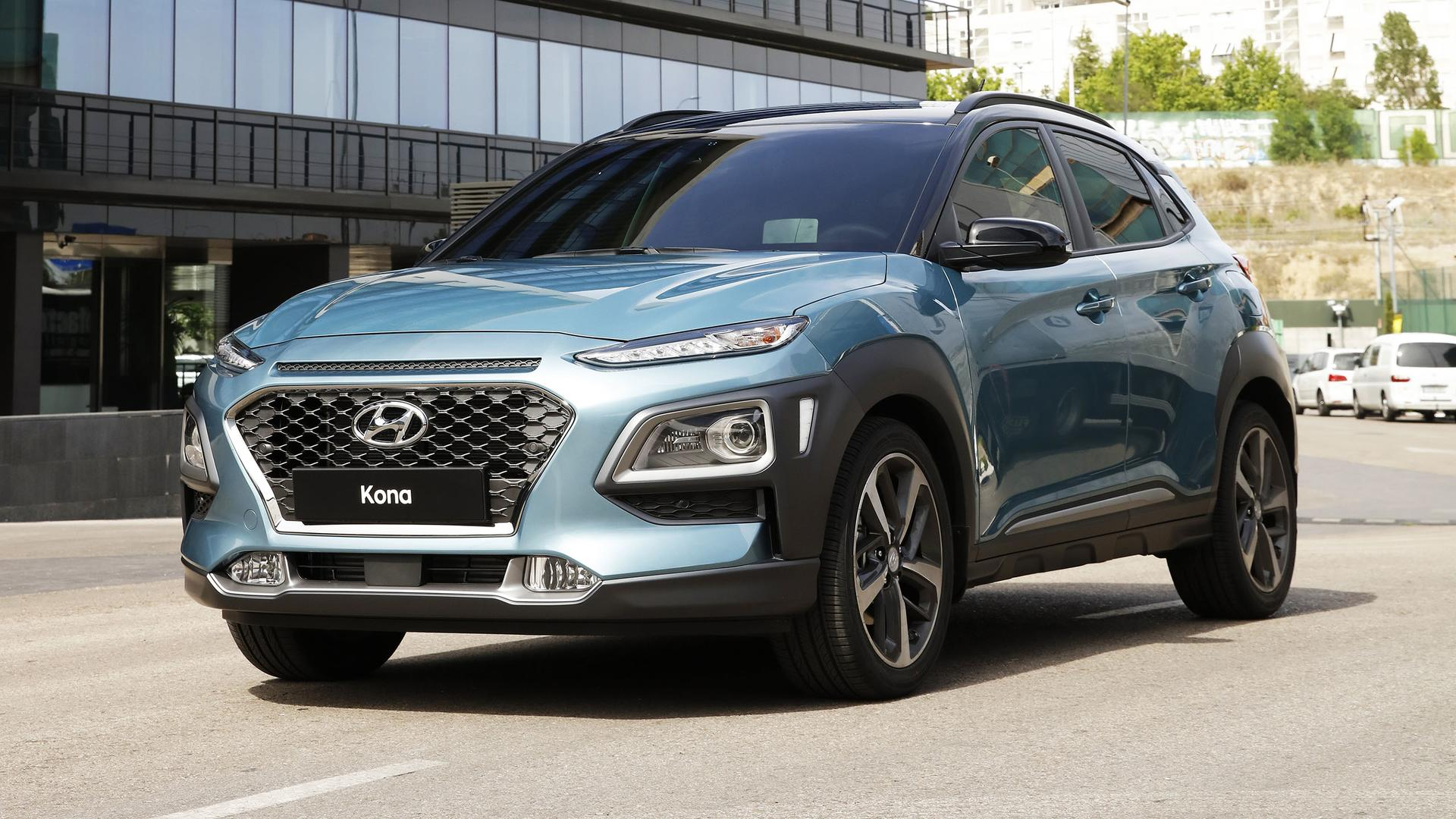 Hyundai Kona — фотогалерея