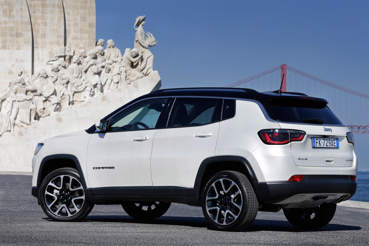 Стала известна стоимость нового кроссовера Jeep Compass в Российской Федерации
