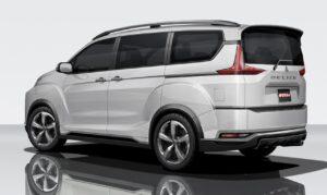 Mitsubishi Delica 2018 Concept