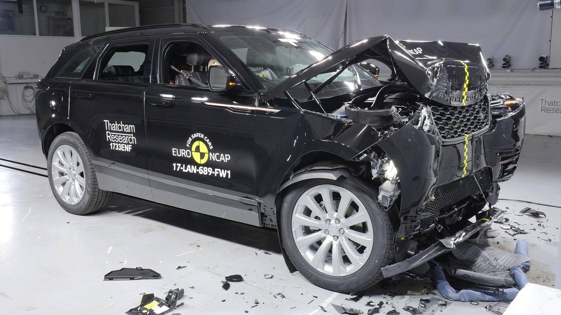 Range Rover Velar краш-тест