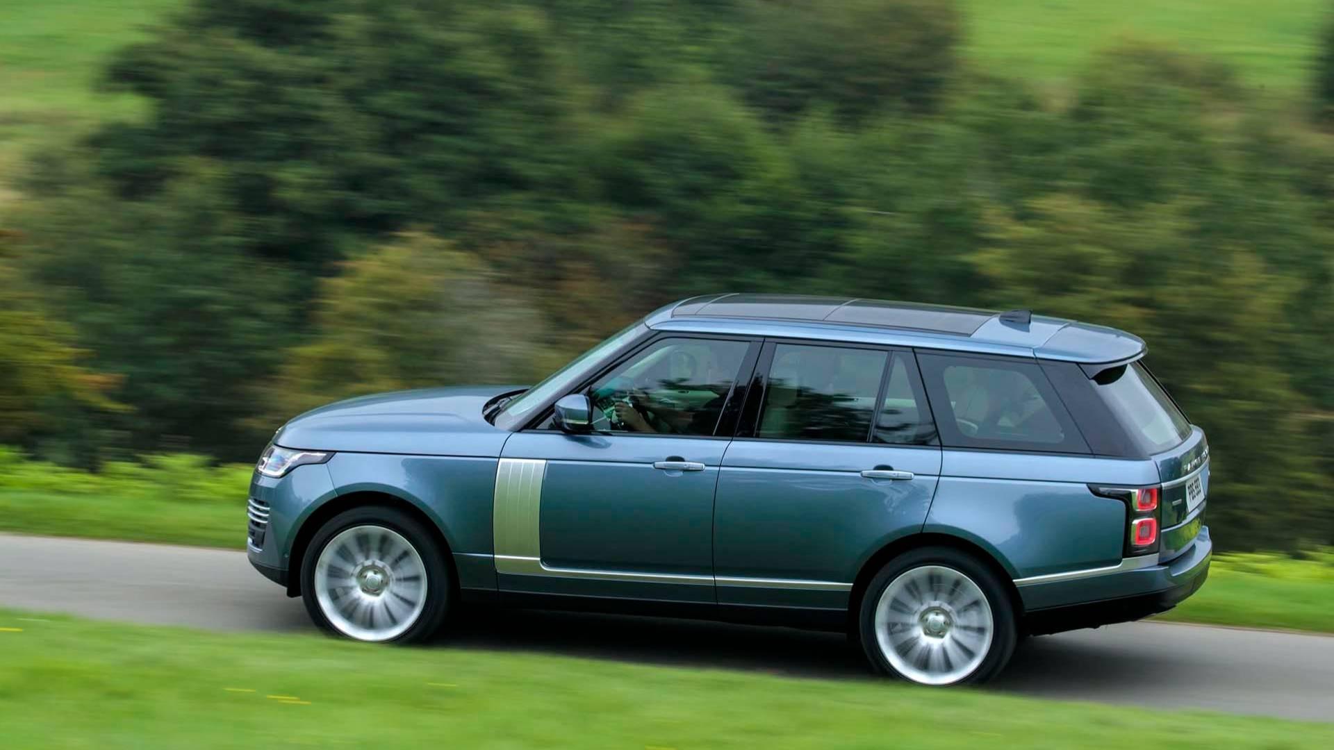 Range Rover 2018 — фотогалерея