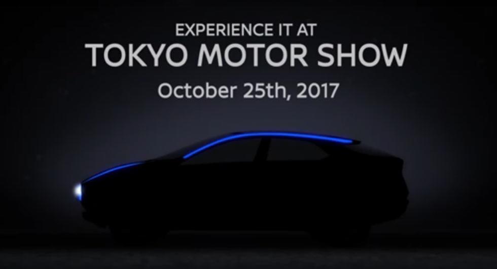Nissan концепт кроссовера