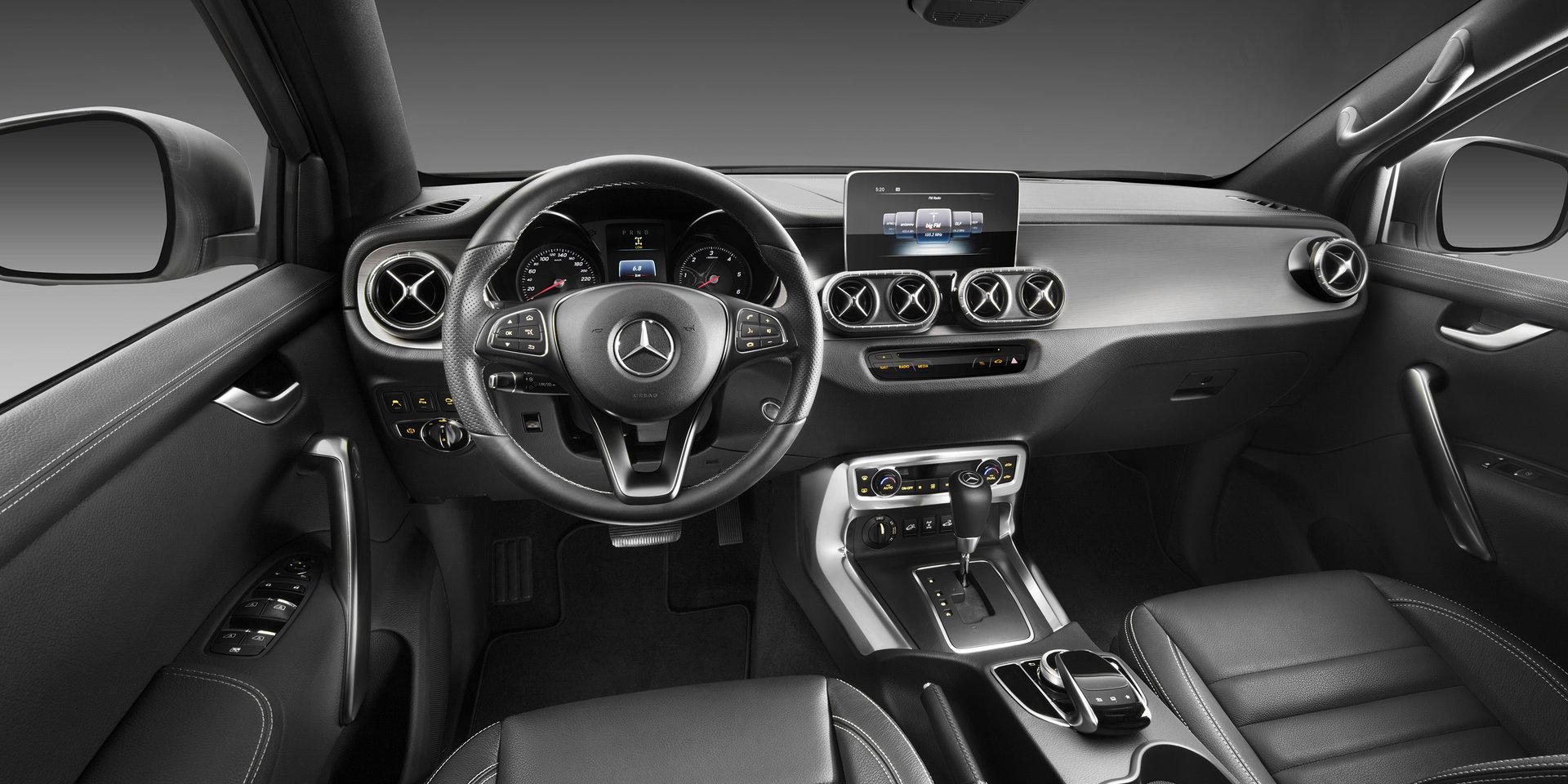 Mercedes X-Class — фотогалерея