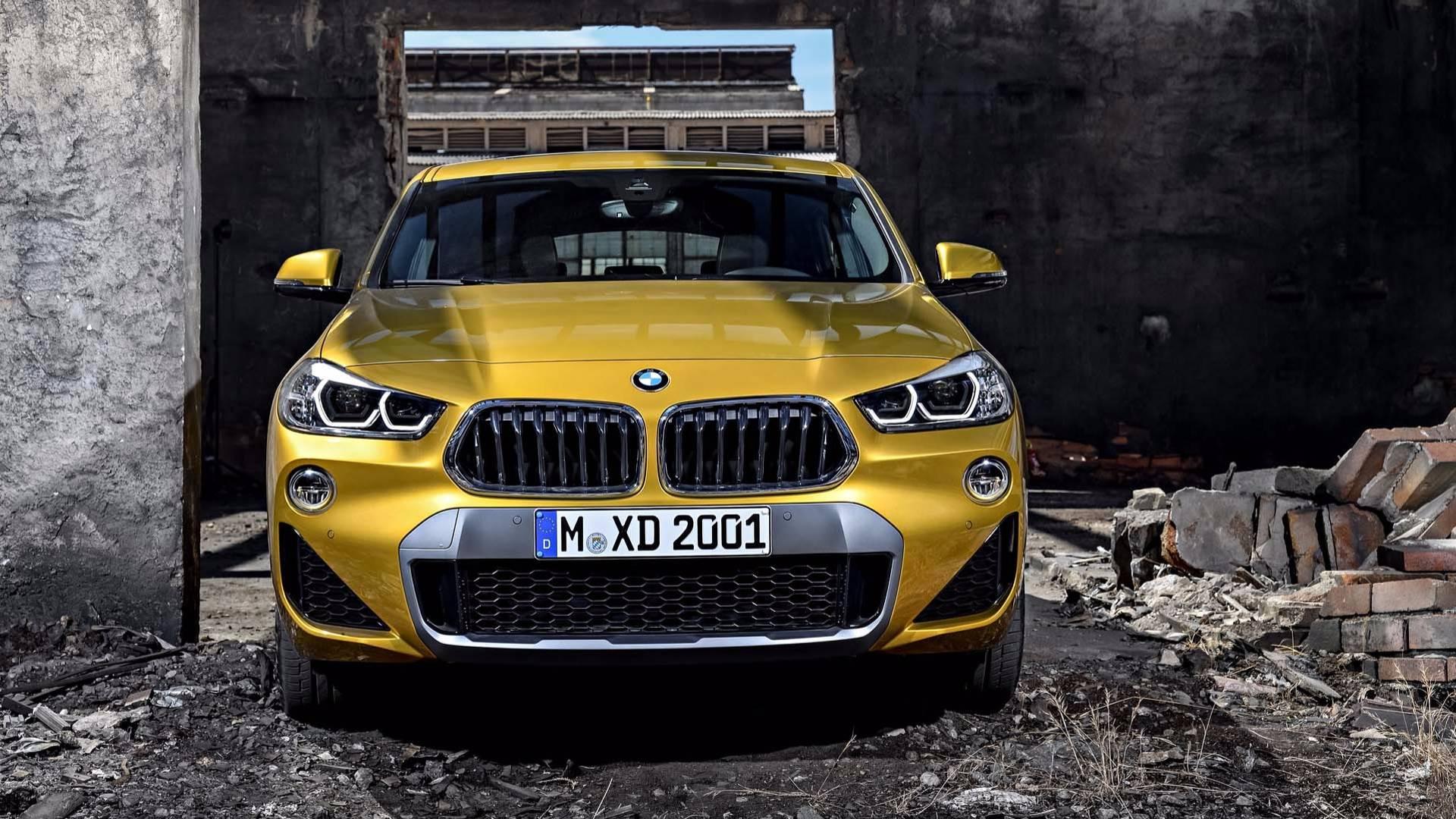 BMW X2 — фотогалерея