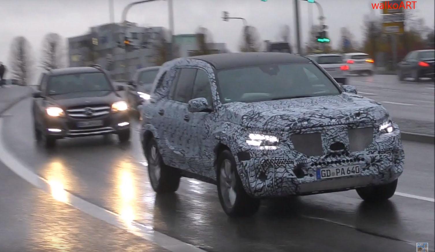 Будущие версии Mercedes GLS, GLB и EQ C тестируют в Германии