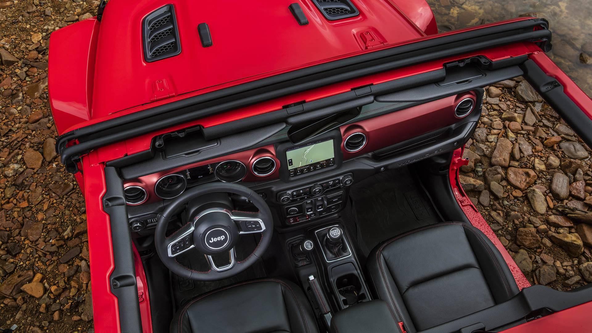 Jeep Wrangler 2018 — фотогалерея внедорожника