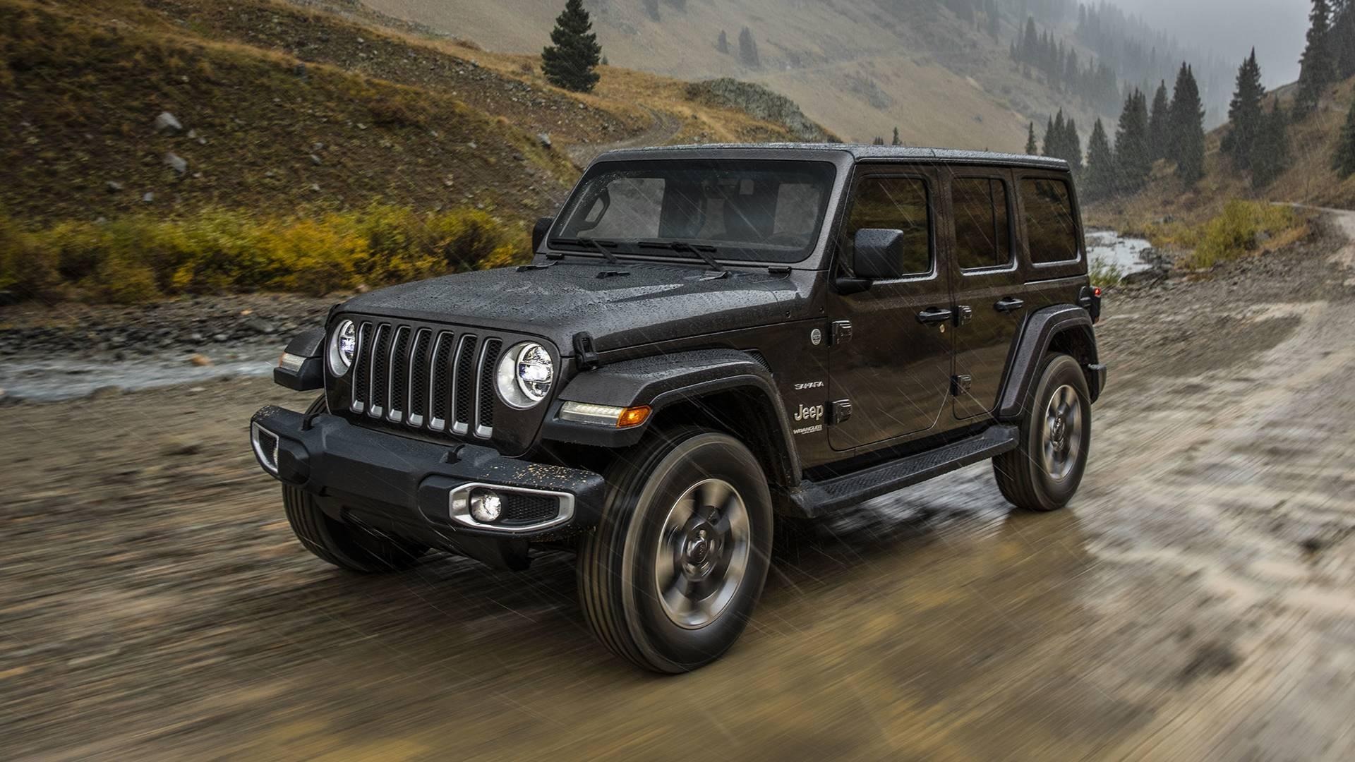 Инсайдеры проинформировали оновых двигателях модели Jeep Wrangler