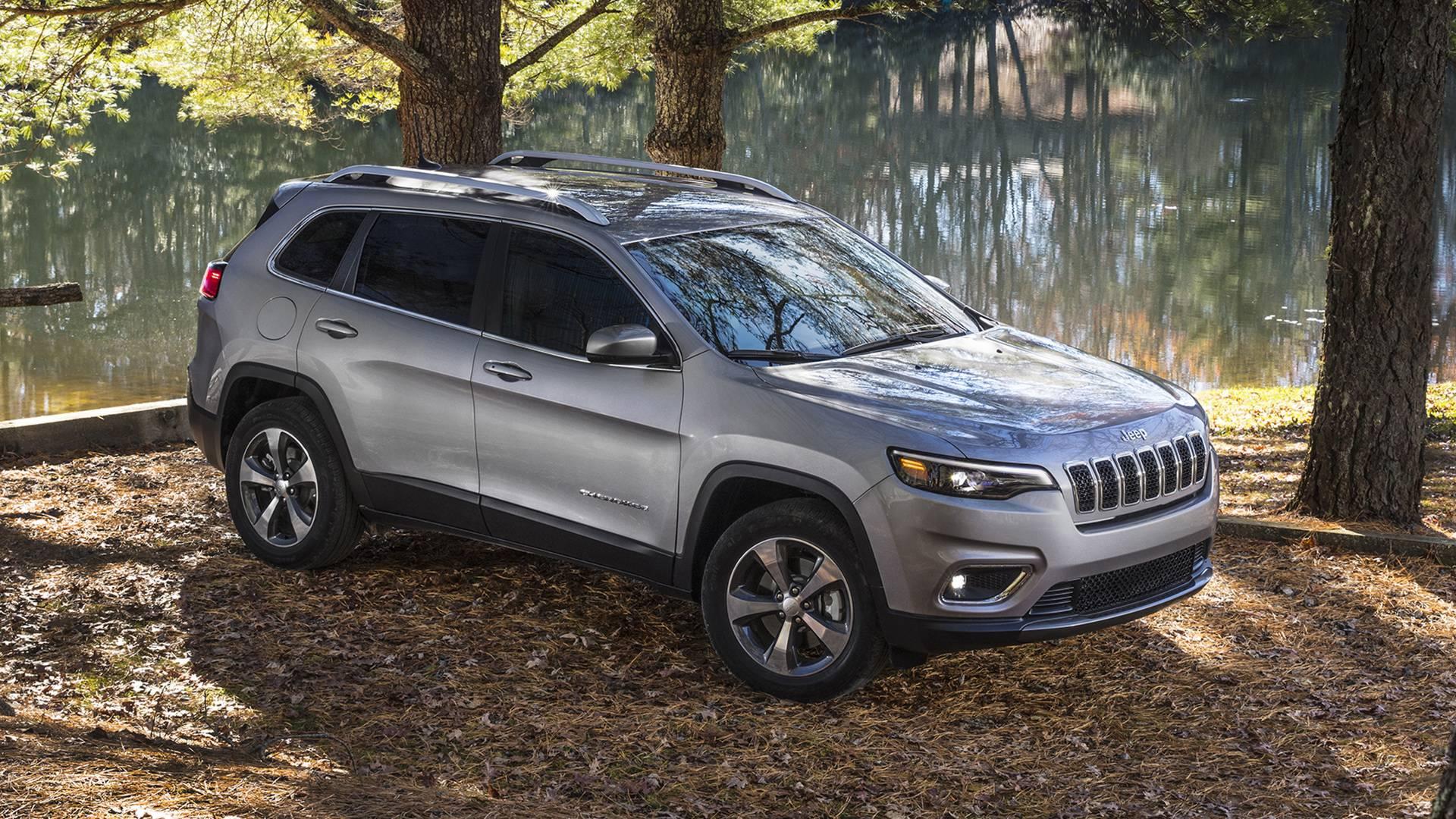 Jeep Cherokee 2019 — фотогалерея
