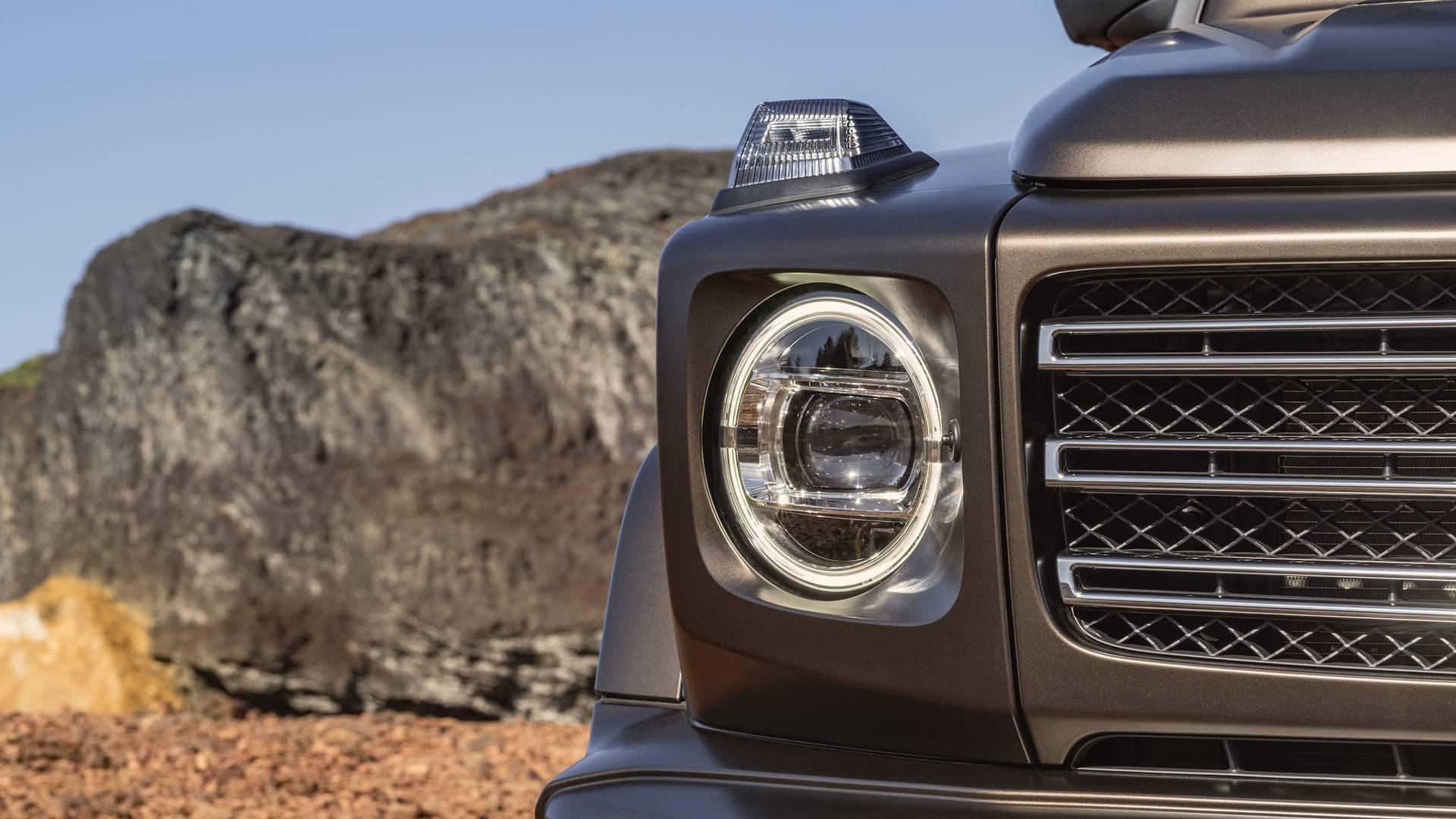 Mercedes-Benz G-Class W464 — фотогалерея