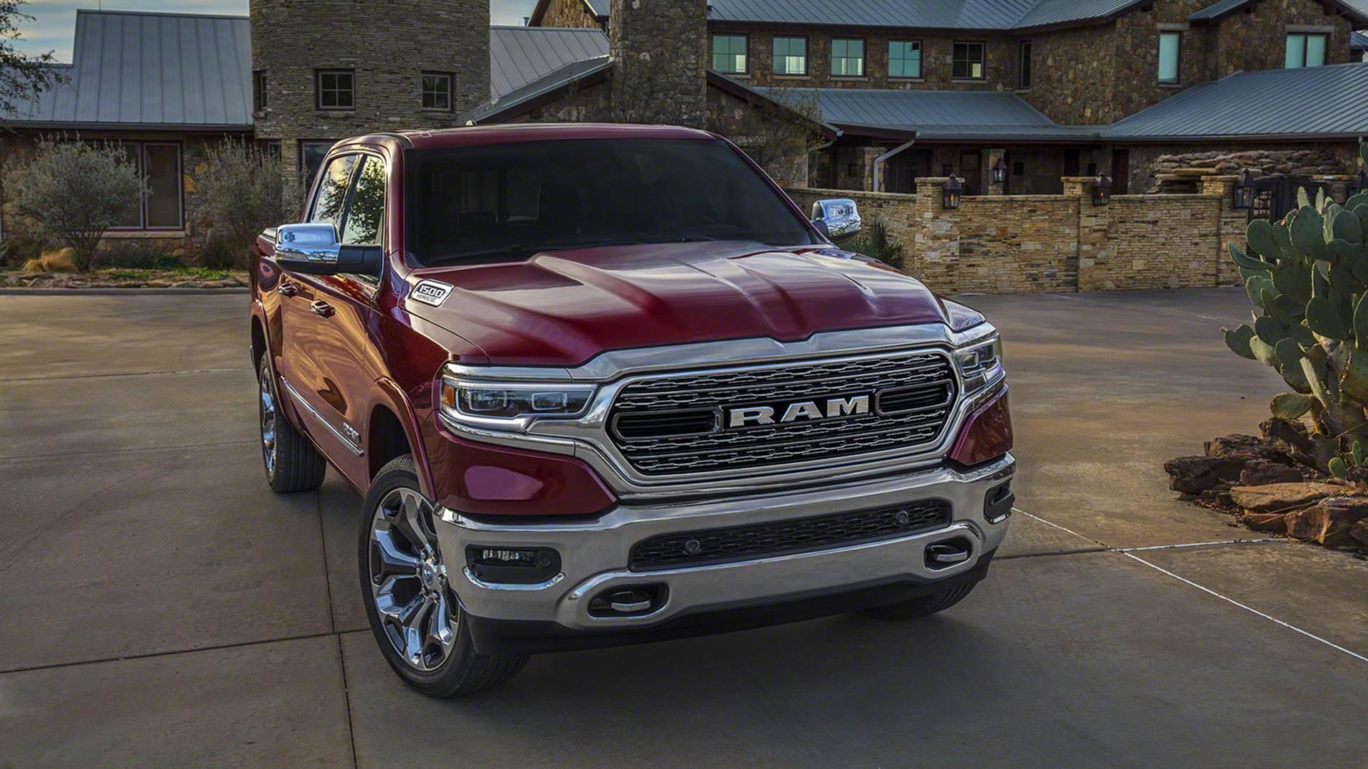 RAM 1500 2019 — фотогалерея