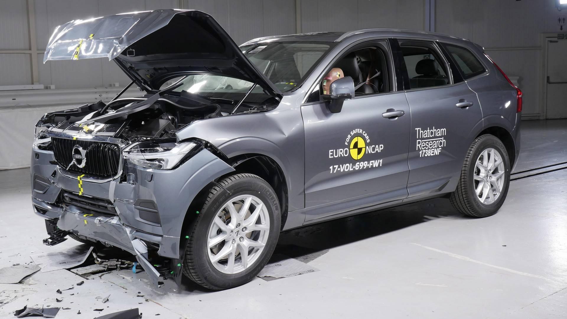 Volvo XC60 краш тест ENCAP