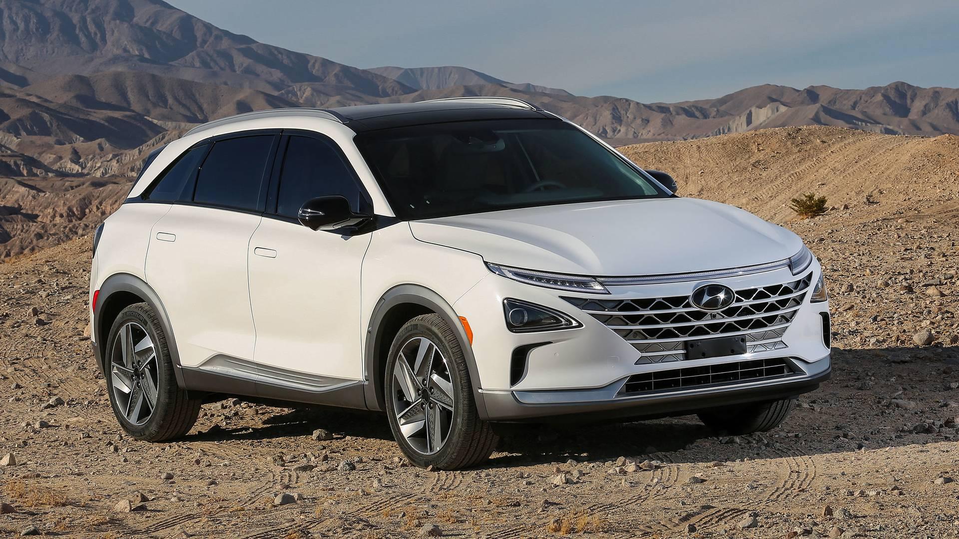 Hyundai раскрыл цену водородного кросса Nexo для США