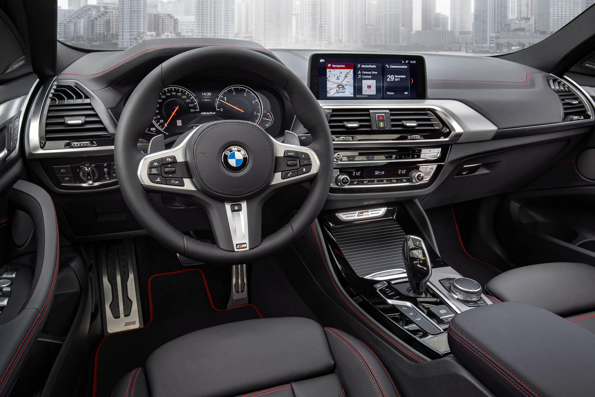 Новый БМВ X4 для русского рынка представили официально