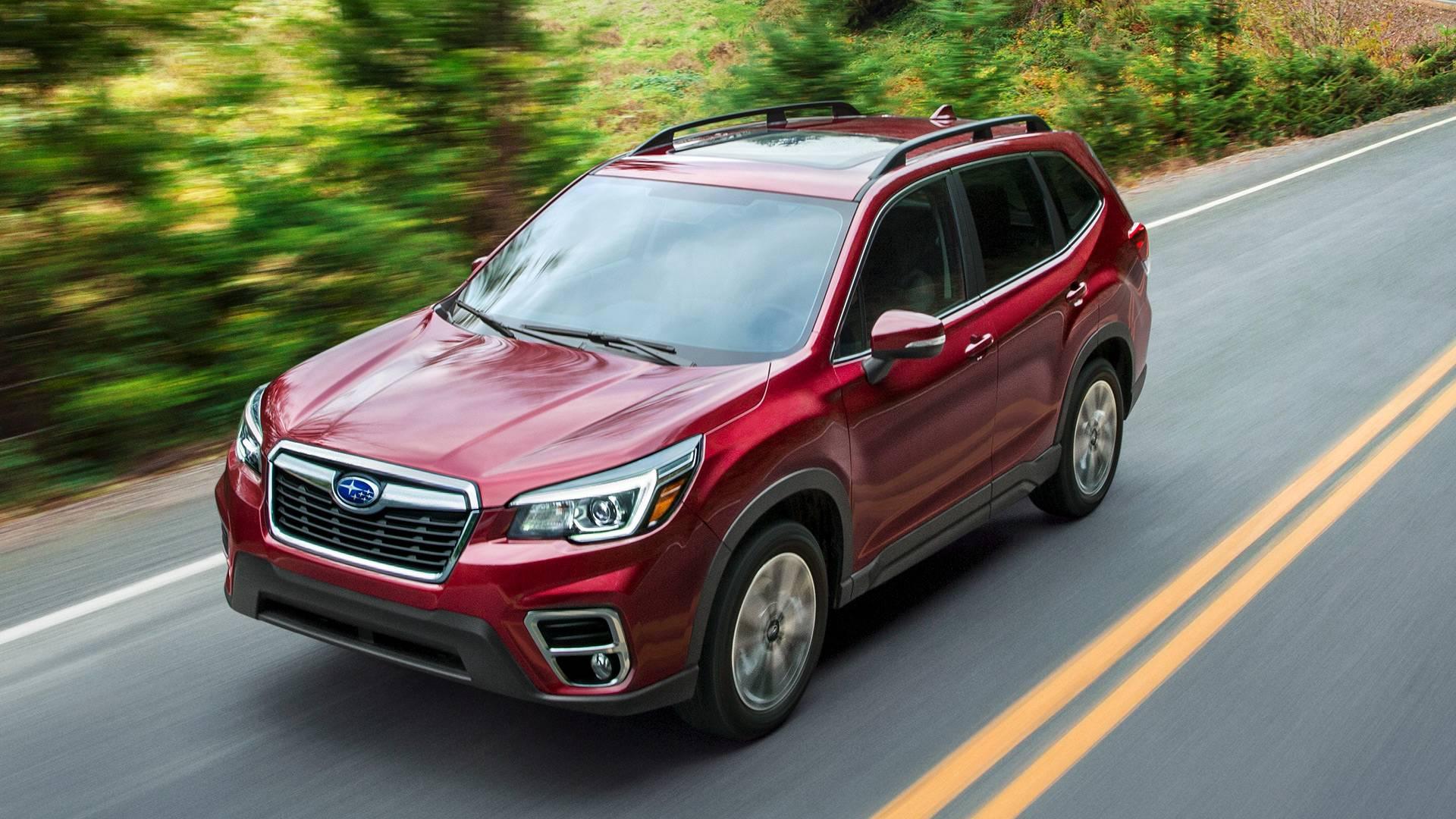 Рассекречено новое поколение Subaru Forester