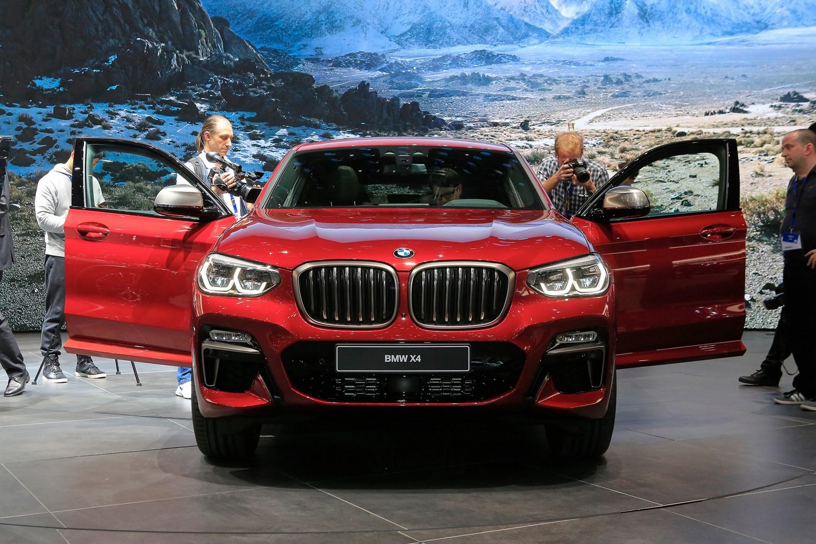 BMW X4 2019 в Женеве — Live Фото