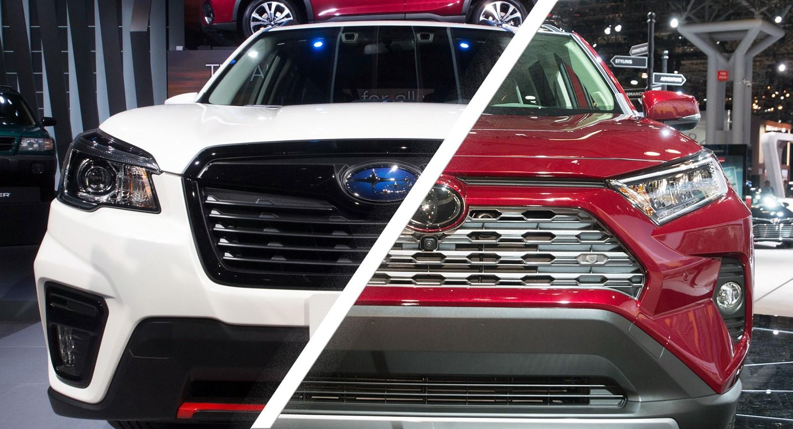 Новый <b>Toyota RAV4</b> против Subaru Forester: революция или ...
