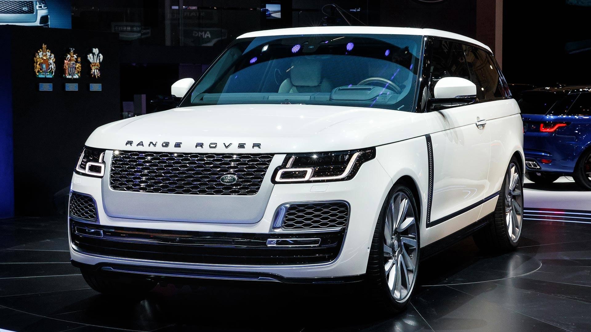 Range Rover SV Coupe — фотогалерея