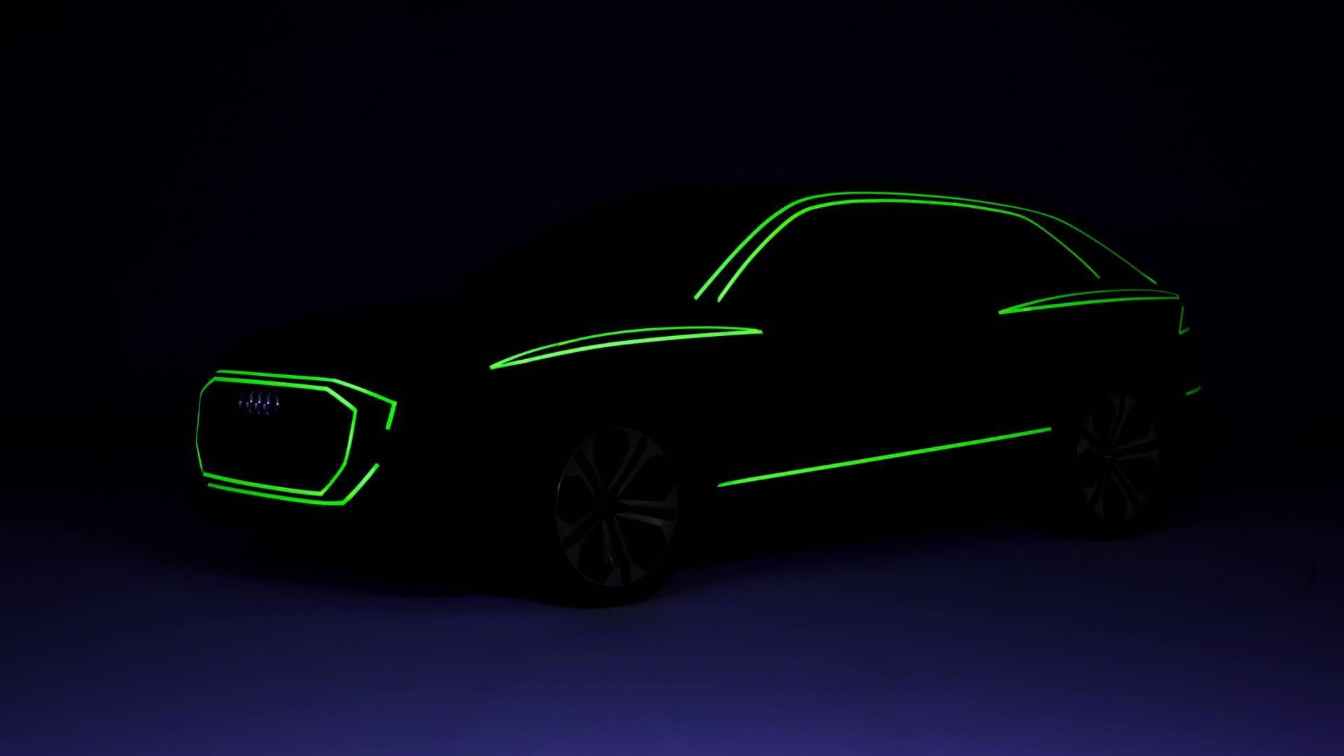 Audi предложил потрогать свой Q8