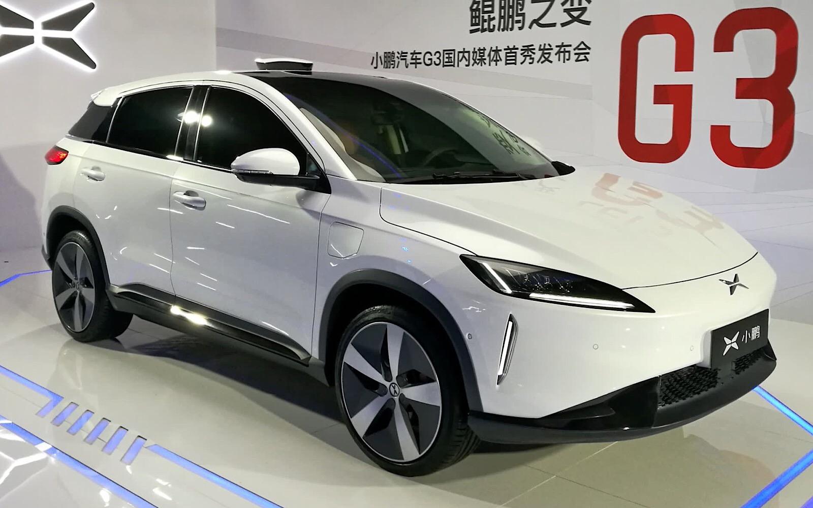 Xpeng и Alibaba представляют G3 — интеллектуальный электрический SUV