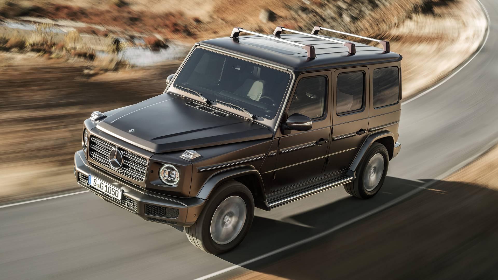 Benz начал производство нового G-Class