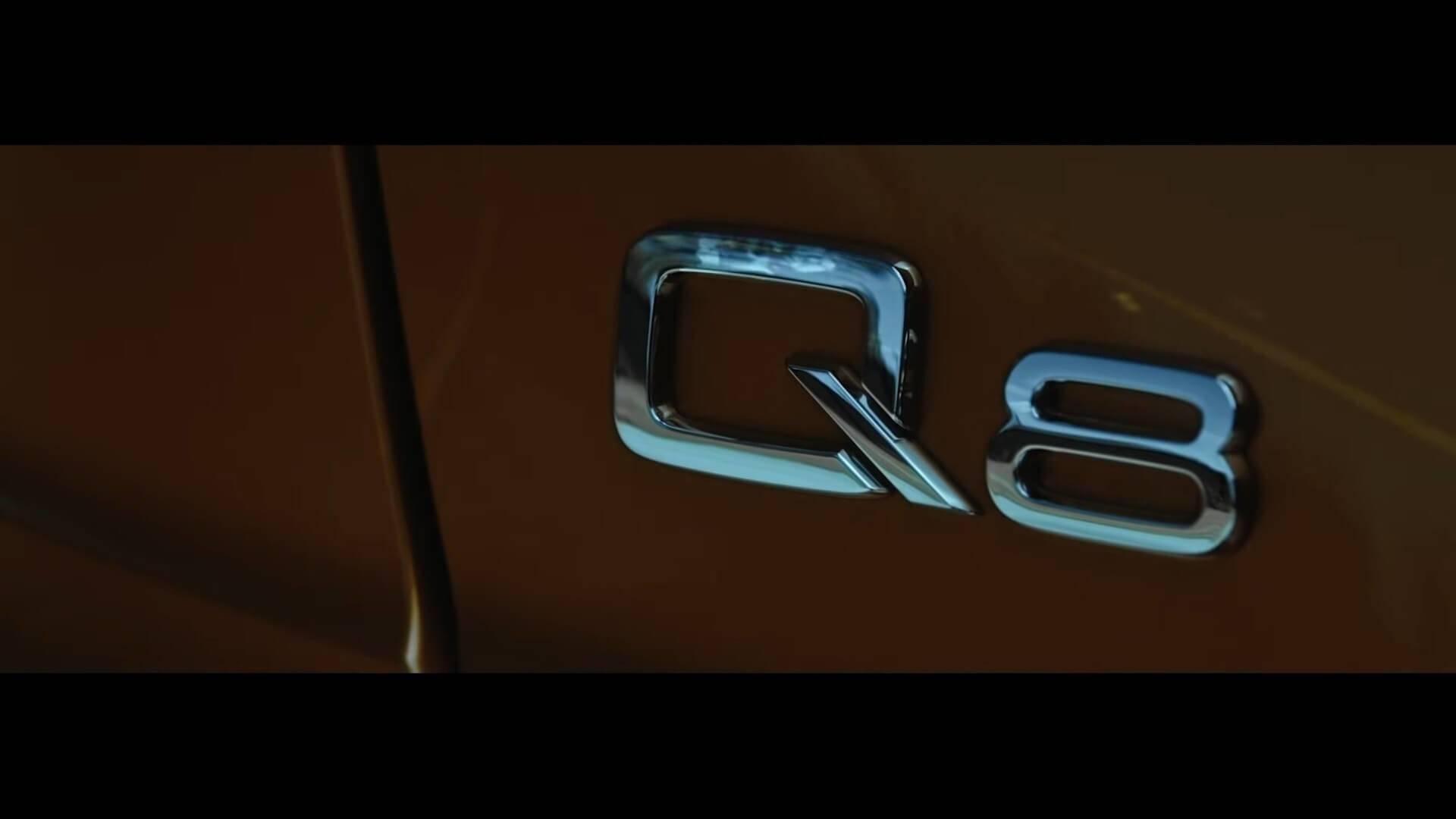 Audi запускает серию видео о новом Q8