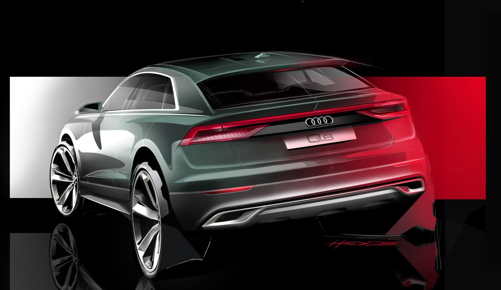 Audi Q8 приближается к дебюту с новым видео
