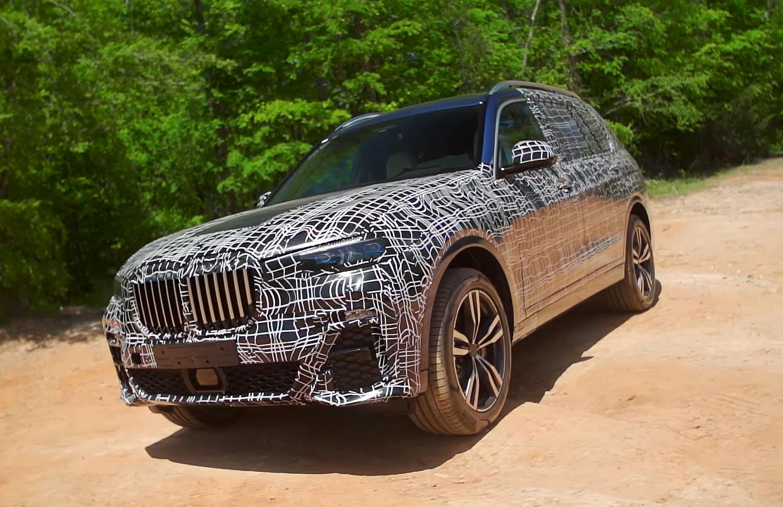 BMW X7 уже дают на тест-драйв (Видео)