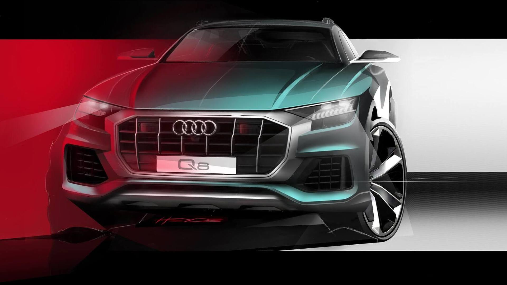 Презентация Audi Q8 уже сегодня (LIVE!)