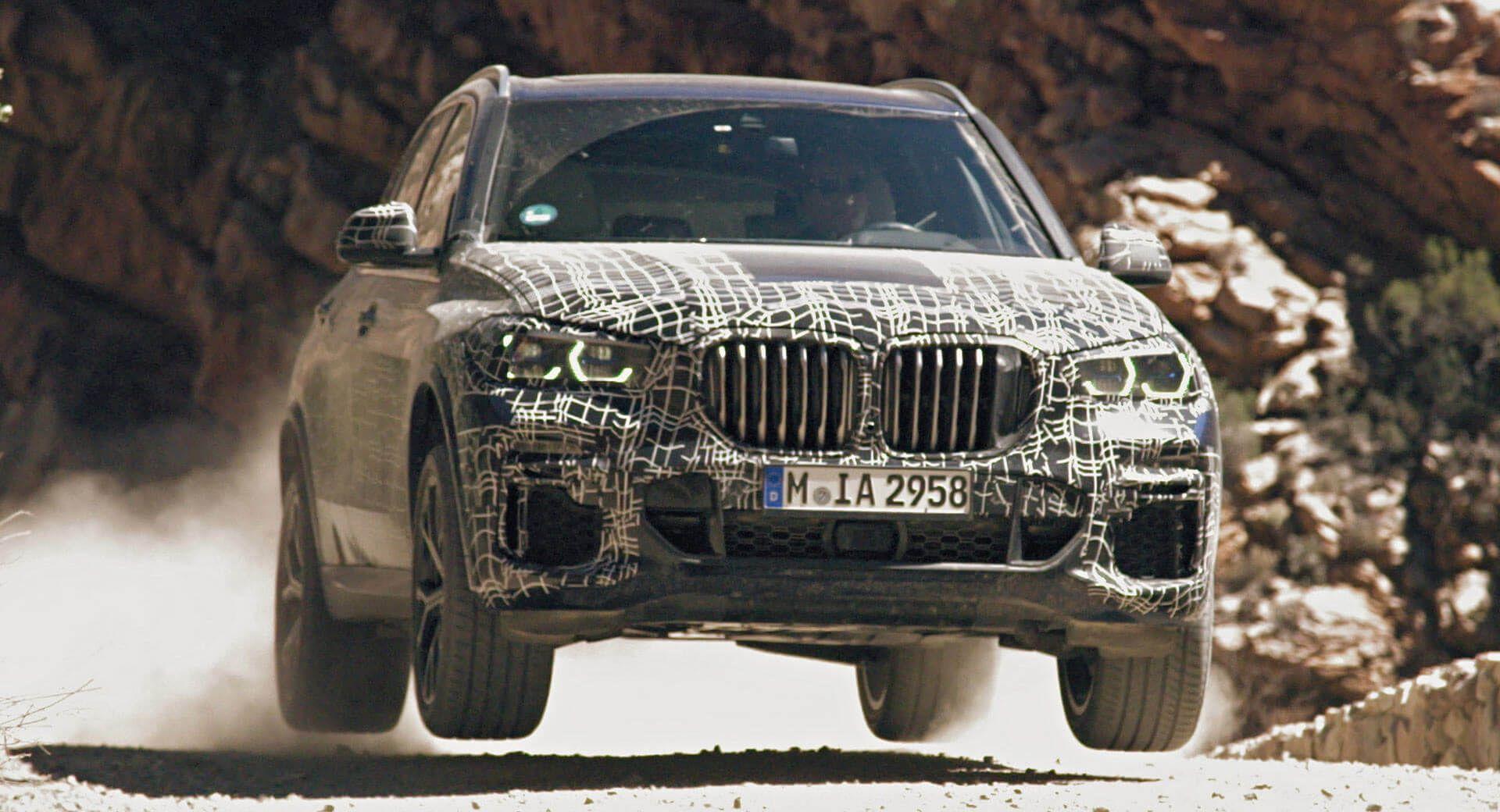 Новый BMW X5 будет настоящим внедорожником (Видео)